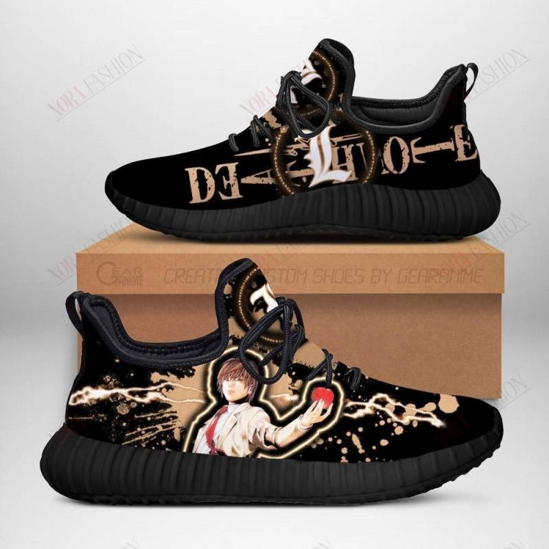 Death Note Light Yagami Shoes Sporty Costume Anime Sneakers