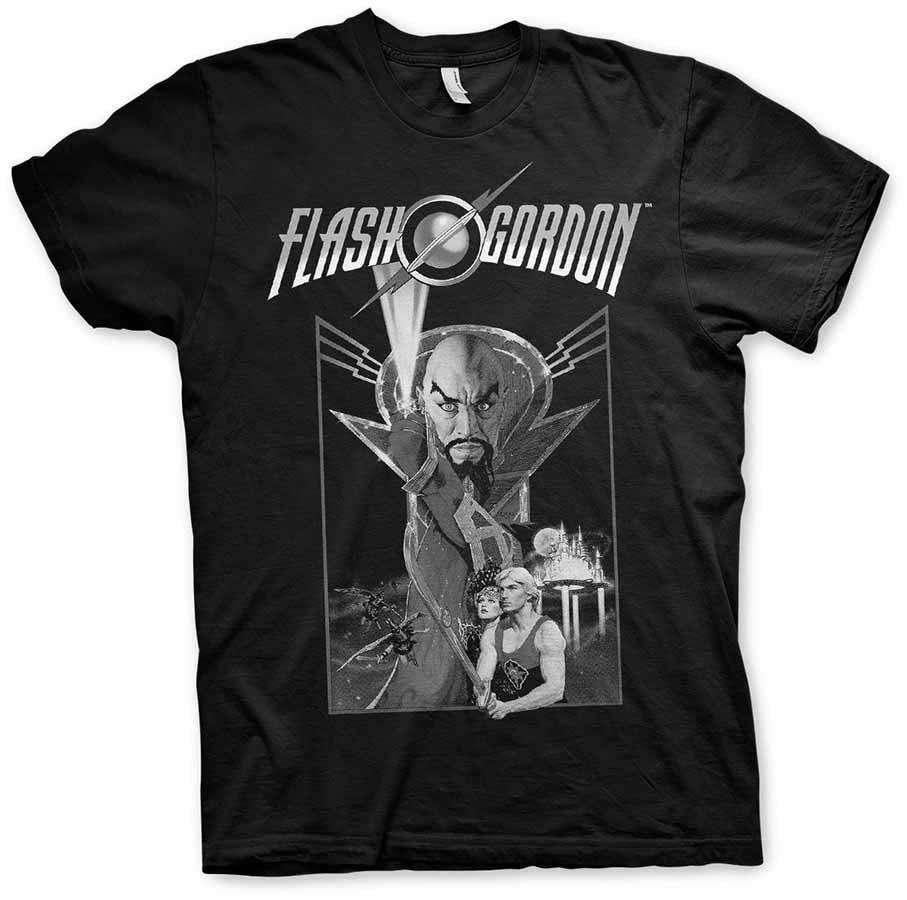 Flash Gordon Vintage Poster T Shirt