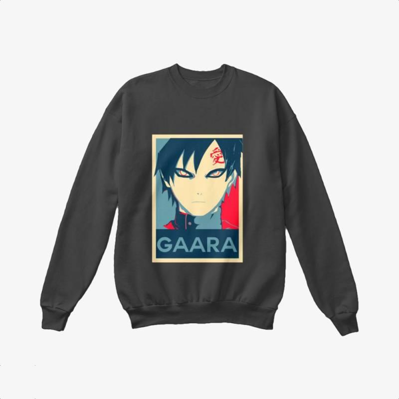 Gaara Poster, Naruto Crewneck Sweatshirt