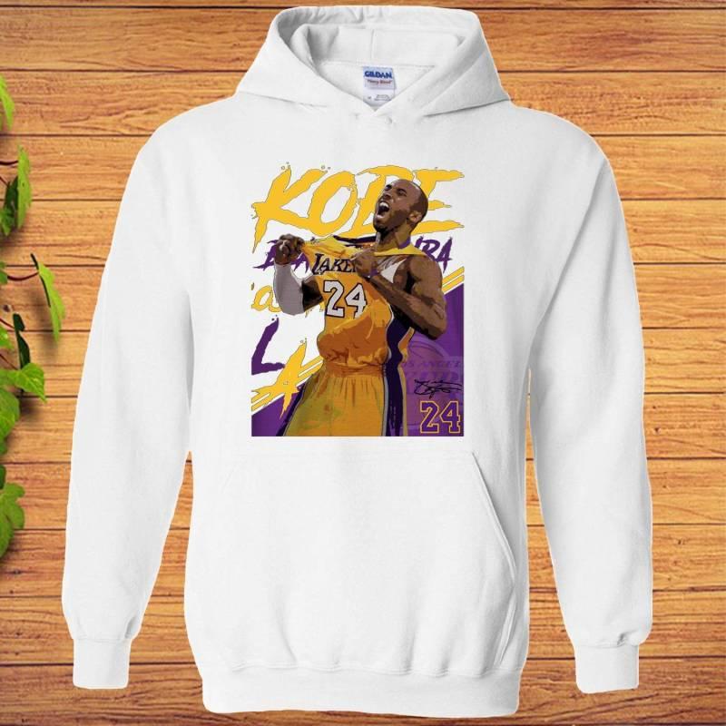 Kobe Bryant Basketball Poster Style Hoodie