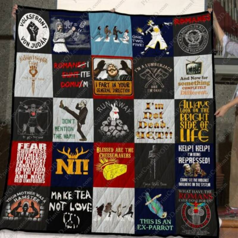 HomeSweetquilt, Monty Python TShirt For Fans, All Size, Small, Medium, Large, X-large, hsq26228