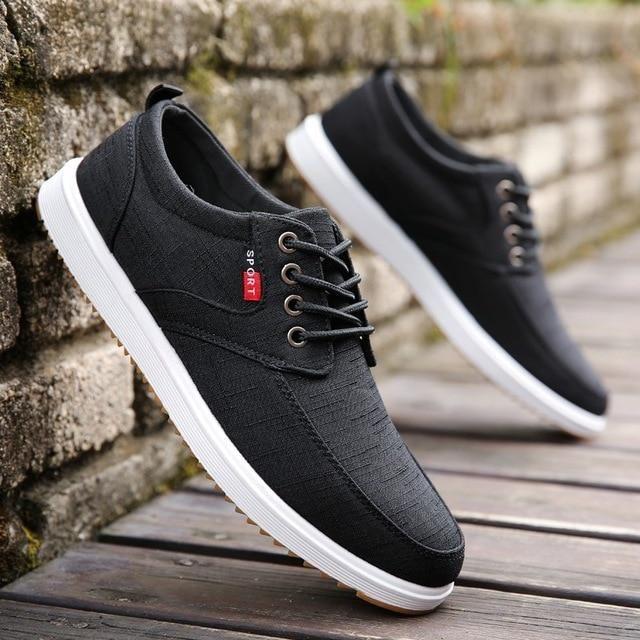 Men Casual Shoes 2019 Shoes Men Breathable Casual Canvas Men Shoes Walking Men Shoes Chaussure Homme Factory sales