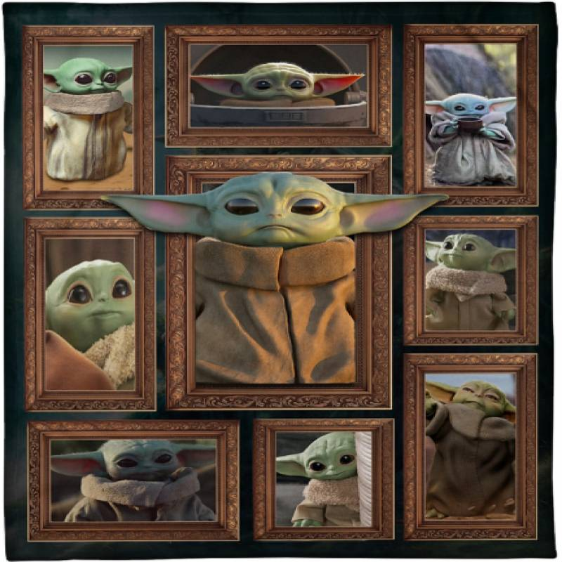 Baby Yoda blanket – BBS