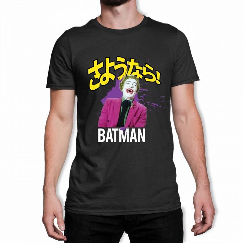 Classic Batman Joker Laugh Men's Black T-Shirt