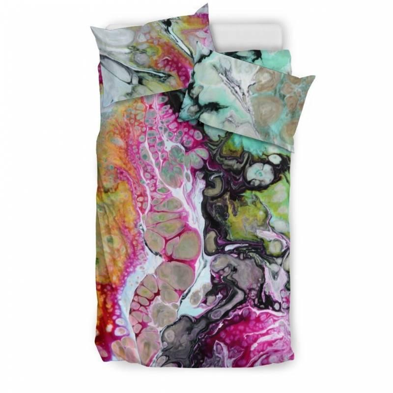Abstract, Bohemian Life Pattern Duvet & Pillow Cover BeddingSet – Muggalicious