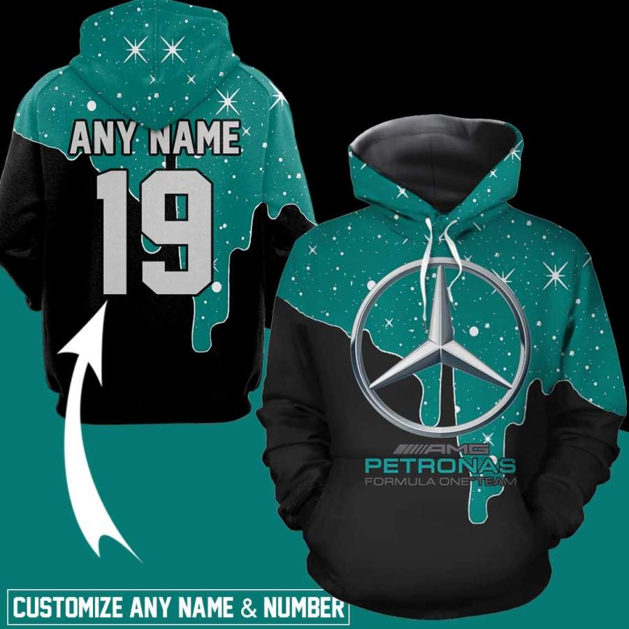 Mercedes Benz Personalized  Men/Women All-Over Print 3D Hoodie
