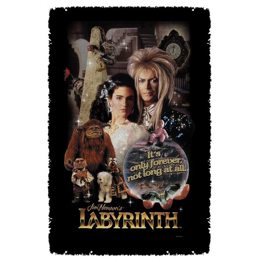 Woven Labyrinth Blanket