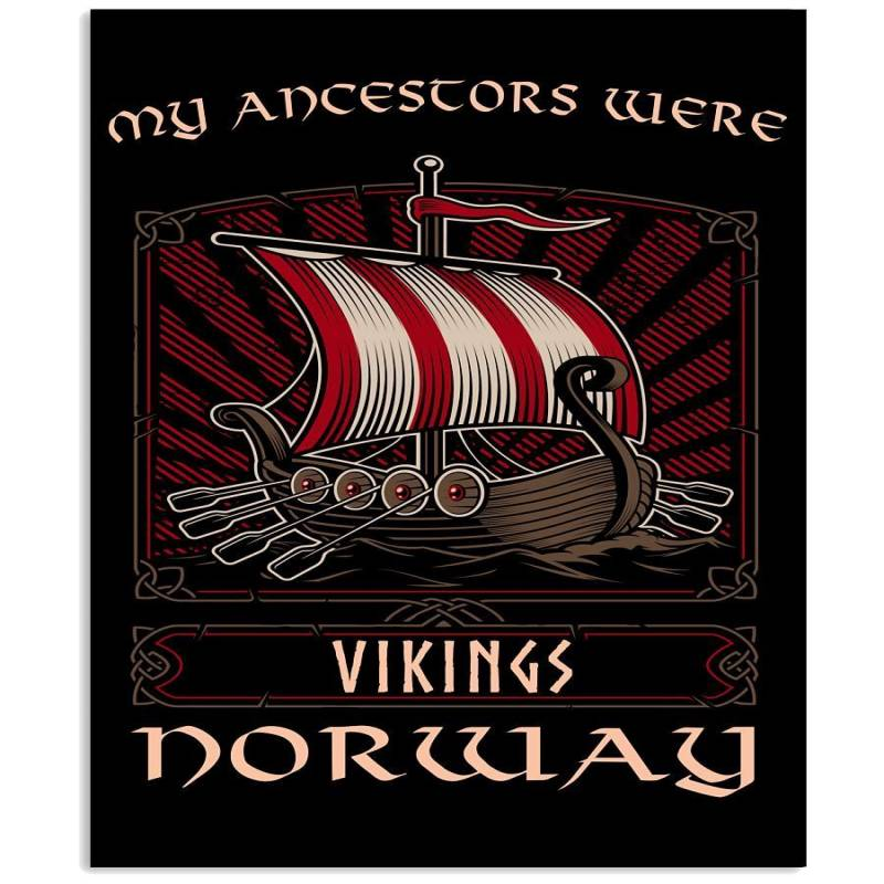 My Ancestors Were Vikings Doway Limited Classic T- Shirt Vertical Poster