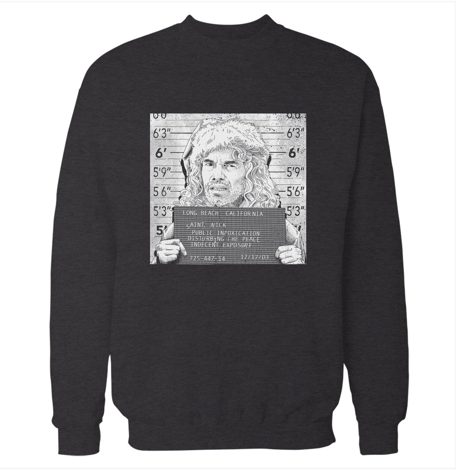 Mugshot 'Bad Santa' Sweatshirt