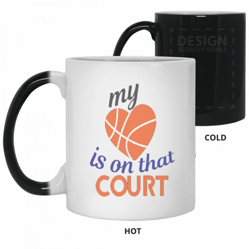 Basketball Mom Dad T Shirt Mothers Day G Color Changing Mug 11oz