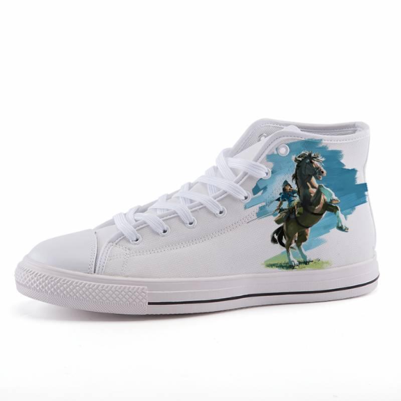 Legend of Zelda Link Breath of The Wild Sneaker Shoes