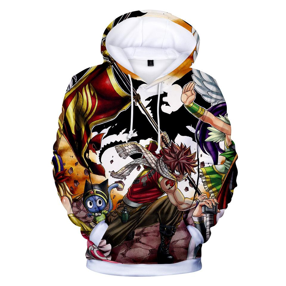 Fairy Tail Hoodies - Fairy Tail Anime Series Poster Super Cool Hoodie