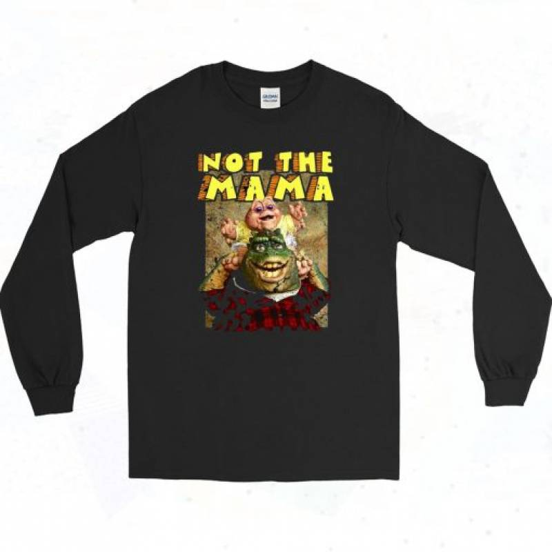 Dinosaurs TV Show Poster Long Sleeve Style