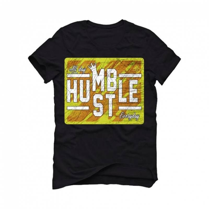 YEEZY 350 V2 Marsh Black T-Shirt (ALWAYS HUSTLE)