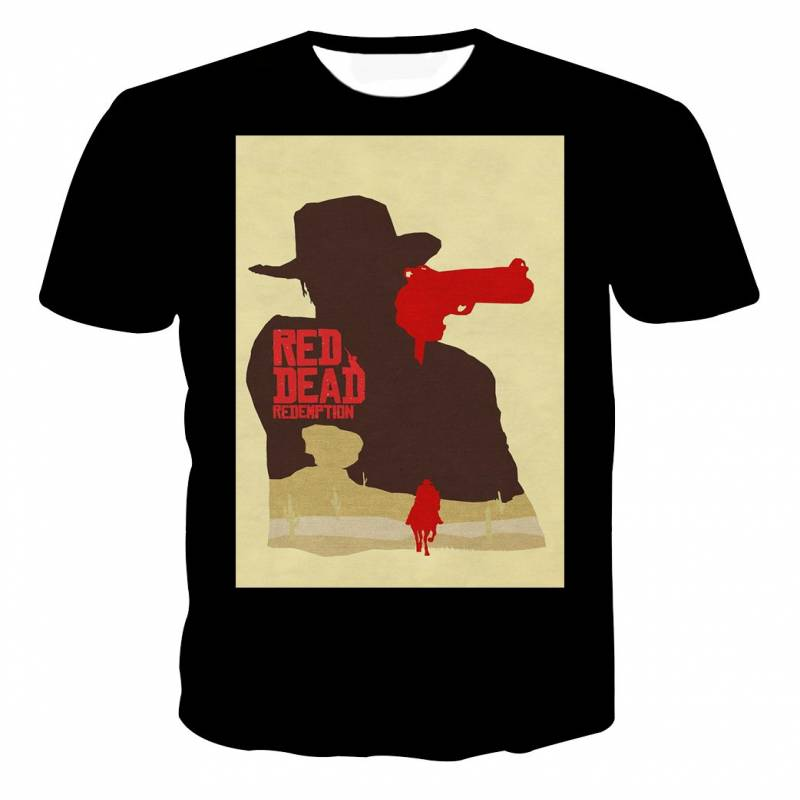 Red Dead Redemption 2 Poster Style T-shirt