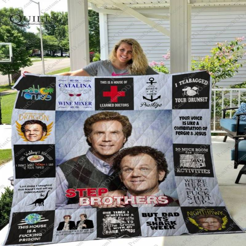 Step Brothers T-shirt Quilt Ver17