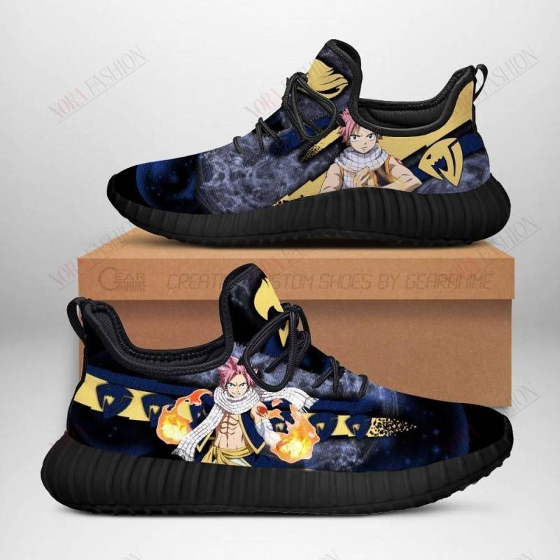Fairy Tail Natsu Shoes Sporty Fairy Tail Anime Sneakers