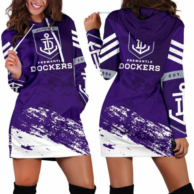 Fremantle Football Club Special Hoodie Dress A7
