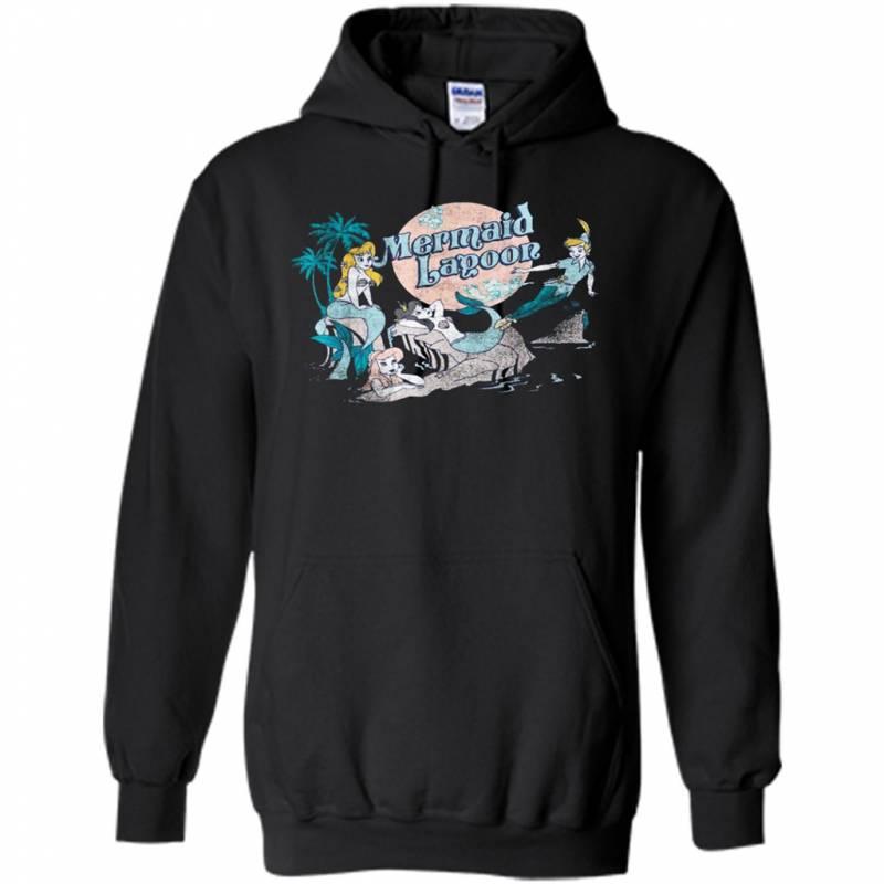Trends Disney Petter Pan Distressed Mermaid Lagoon Graphic – Hoodie