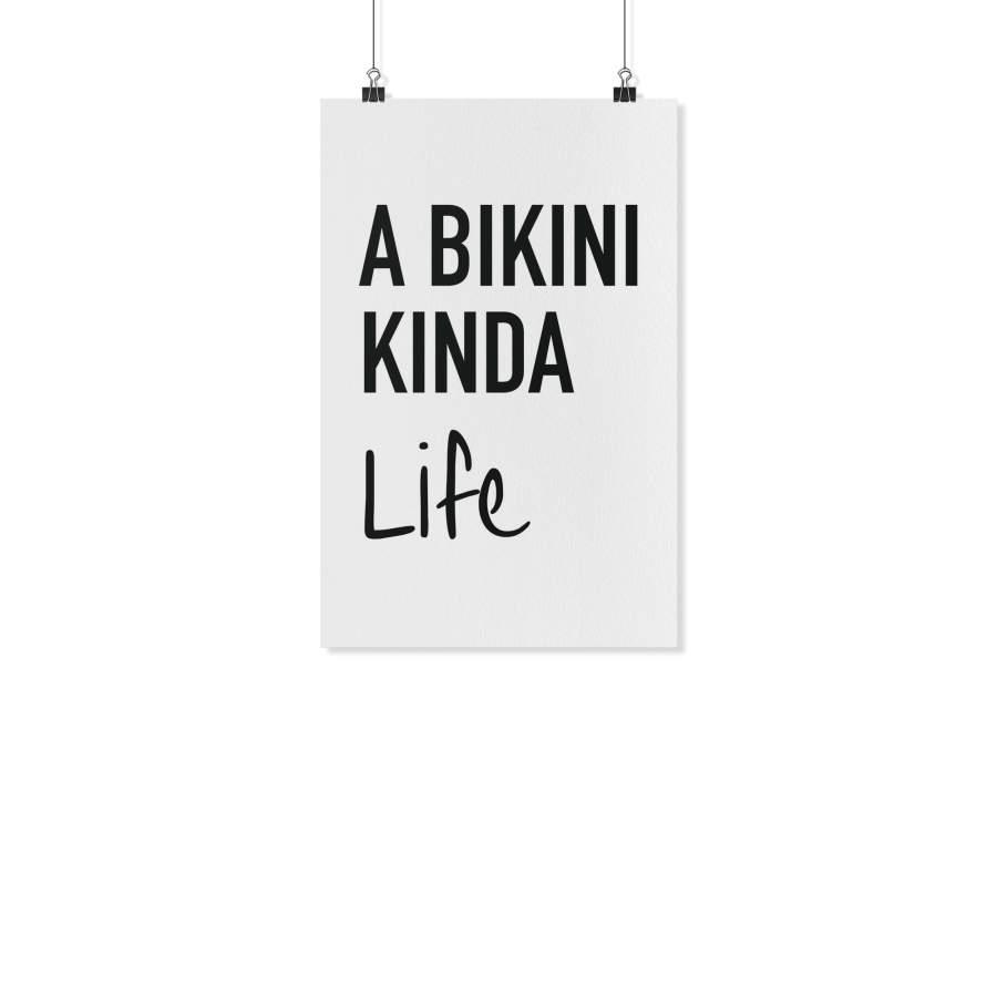 A Bikini Poster