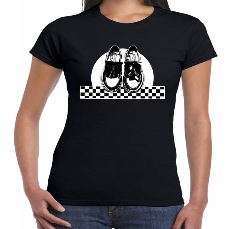Ska Dancing Shoes Women's T-Shirt - Ska Madness The Specials Reggae