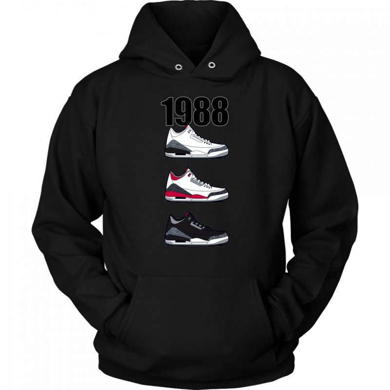 Respect The Shoes AJ 1988 Pullover Hoodie