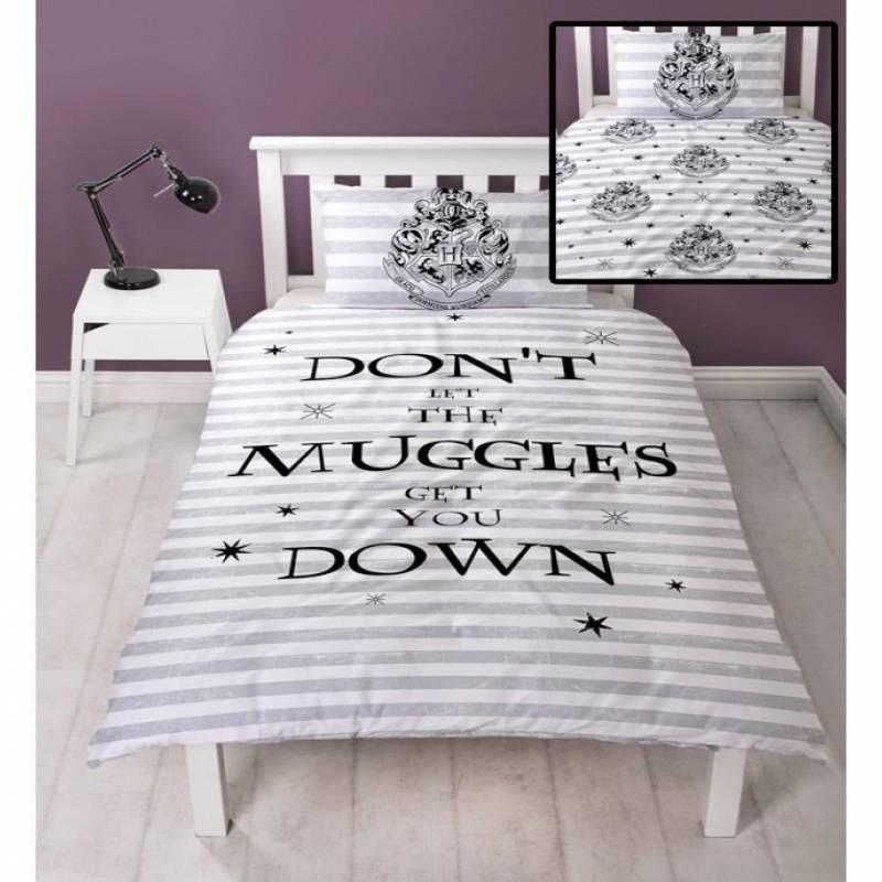 Harry Potter Muggles Duvet Cover – SPELL – Harry Potter Bedding