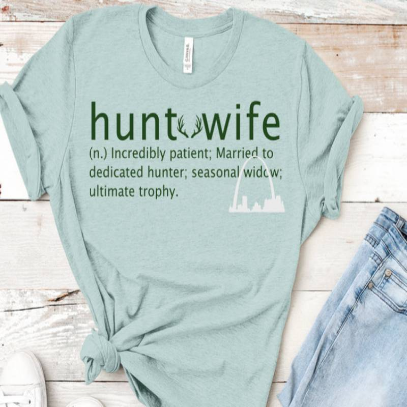 Hunter Wife svg dxf cut file Hunting Widow t-shirts decals mugs hunt wife definition Ultimate trophy wife Hunting Season Silhouette cricut