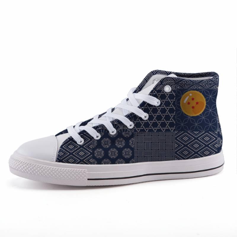 Dragon Ball Japanese Pattern Vintage Design Sneaker Shoes