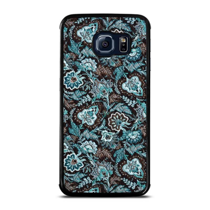 VERA BRADLEY JAVA BLUE Samsung Galaxy S6 Edge Case