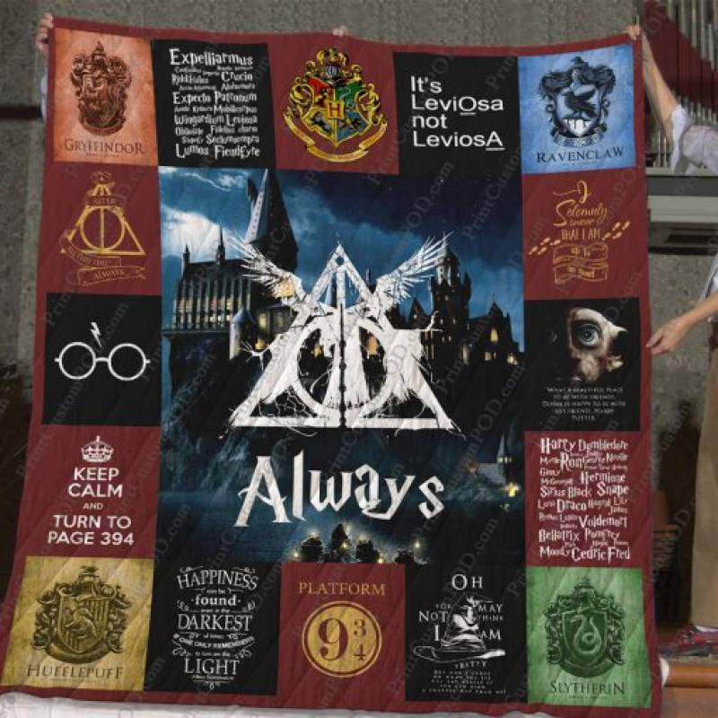 Hp T-shirt Quilt Blanket For Fans Ver 17