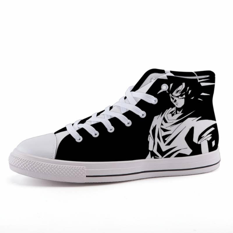 Dragon Ball Goku Simple Design Anime Sneaker Shoes