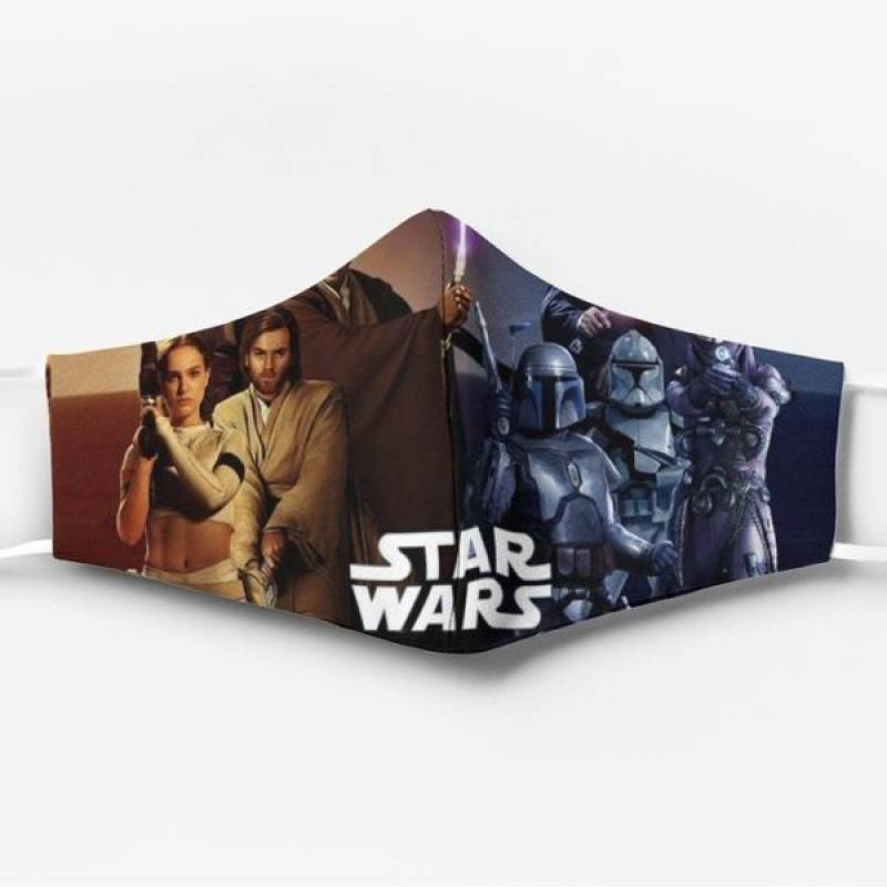 Star wars poster all over printed face mask – maria