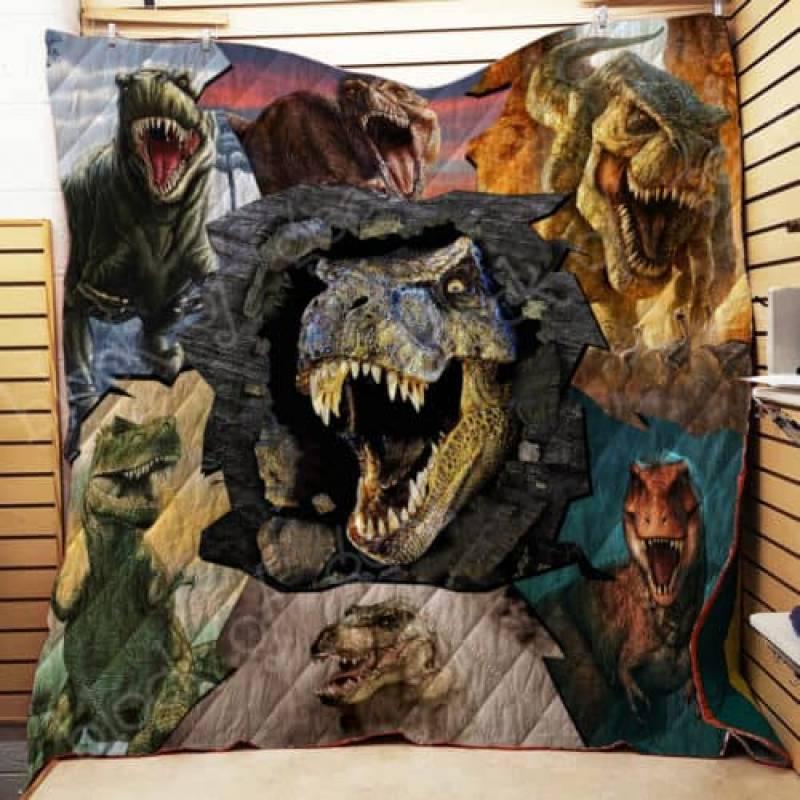 T-rex Quilt Th468
