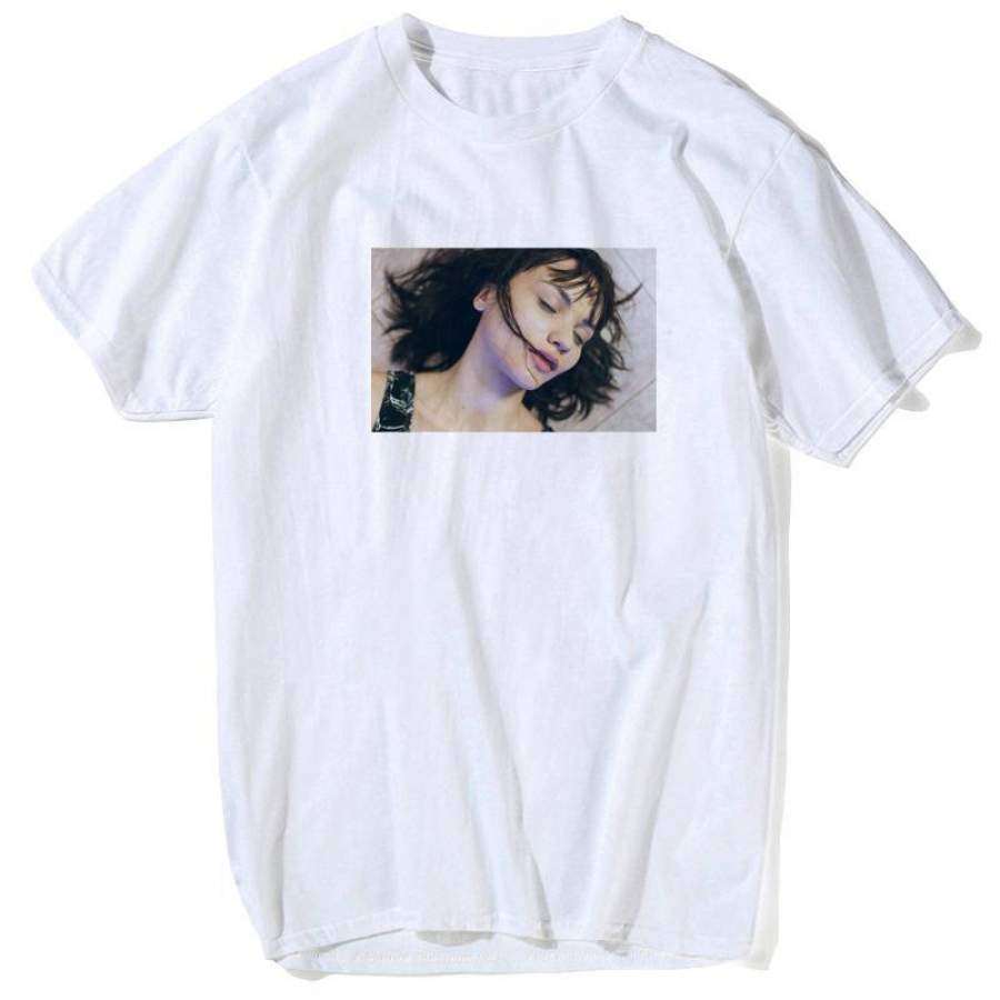 2019 men men Virgin Mary Mia Wallace T shirt Men Pulp Fiction Classic Movie Poster T-shirt Male Quentin Tarantino Top Tees