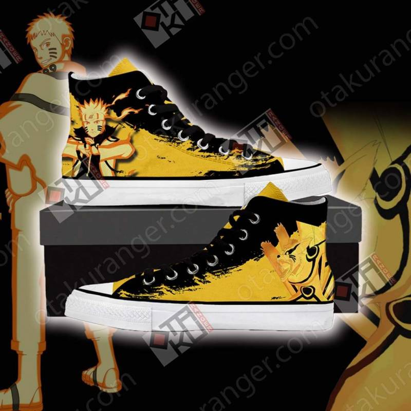 Naruto High Top Shoes