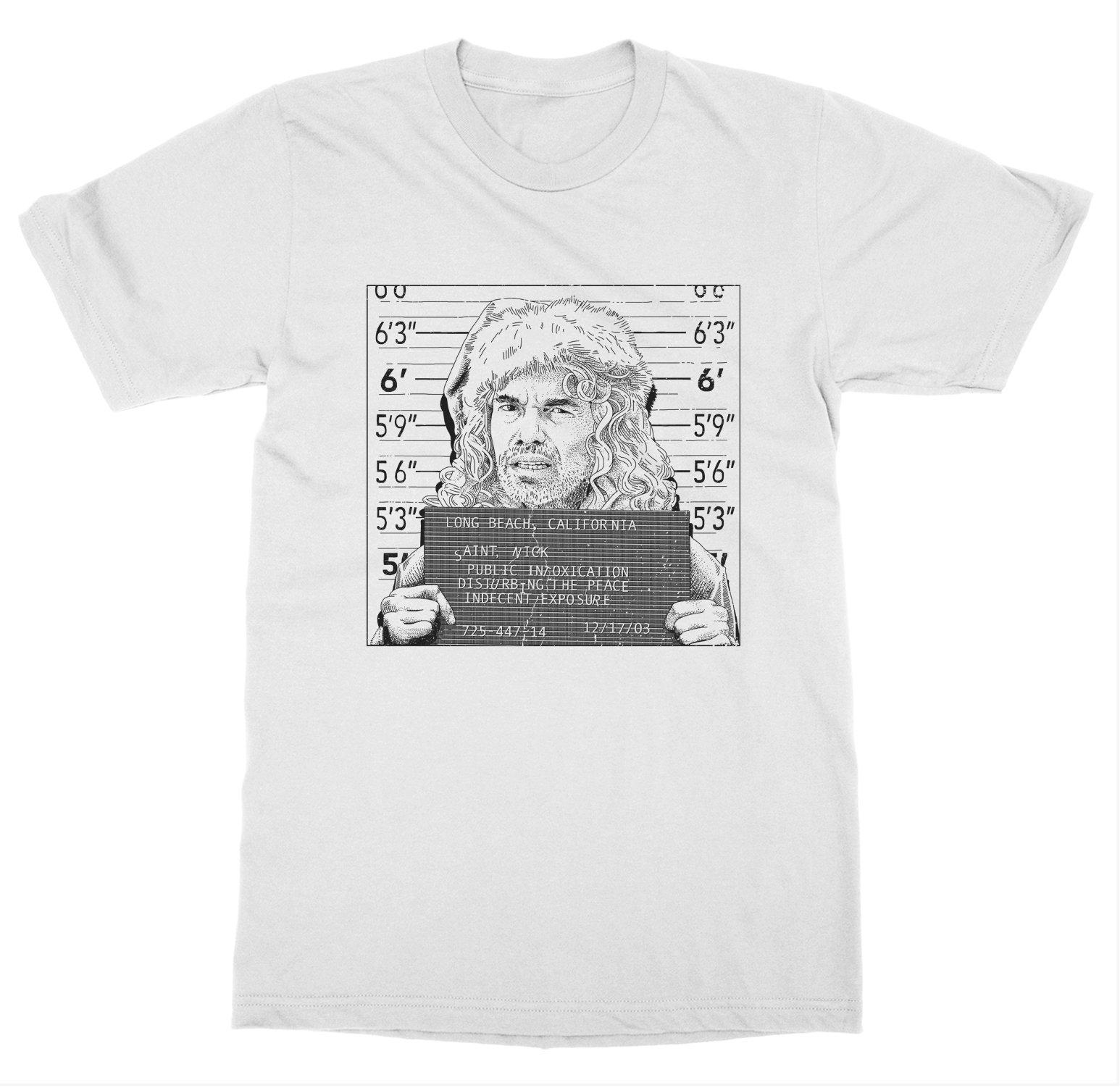 Mugshot 'Bad Santa' T-Shirt