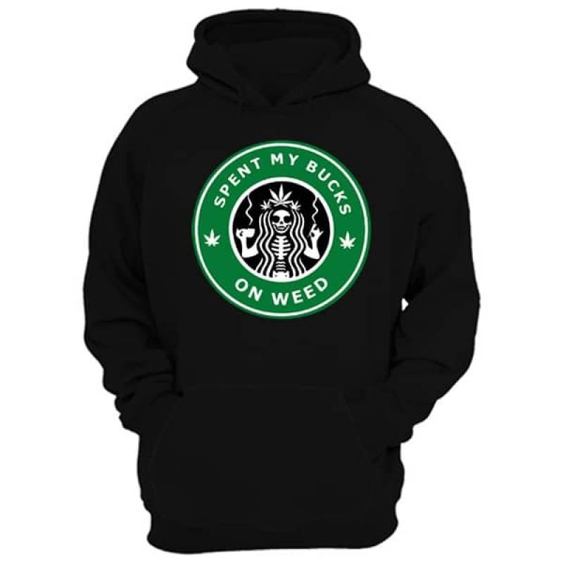Starbucks Weed Hoodie