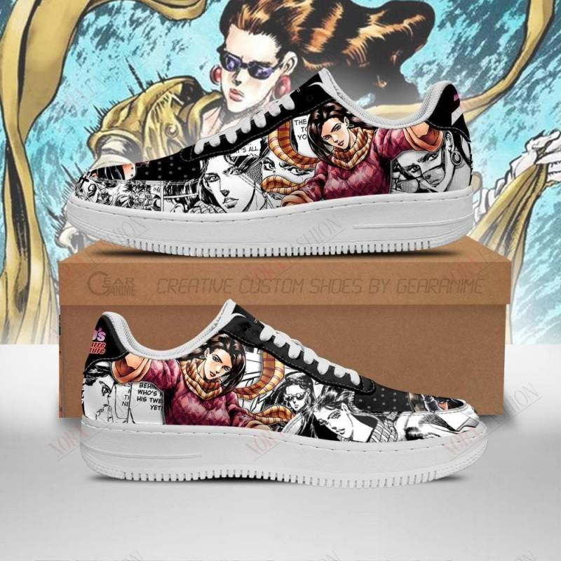 Lisa Lisa Air Sneakers Manga Style JoJos Anime Shoes Fan Gift PT06