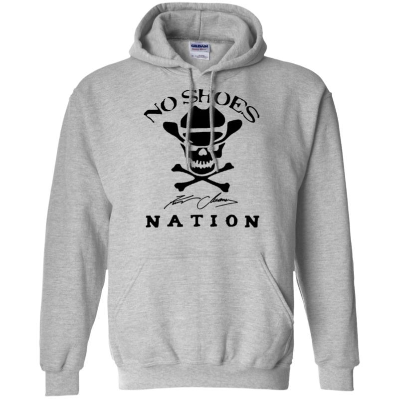 Agr Kenny Chesney No Shoes Nation New Logo Gildan Pullover Hoodie