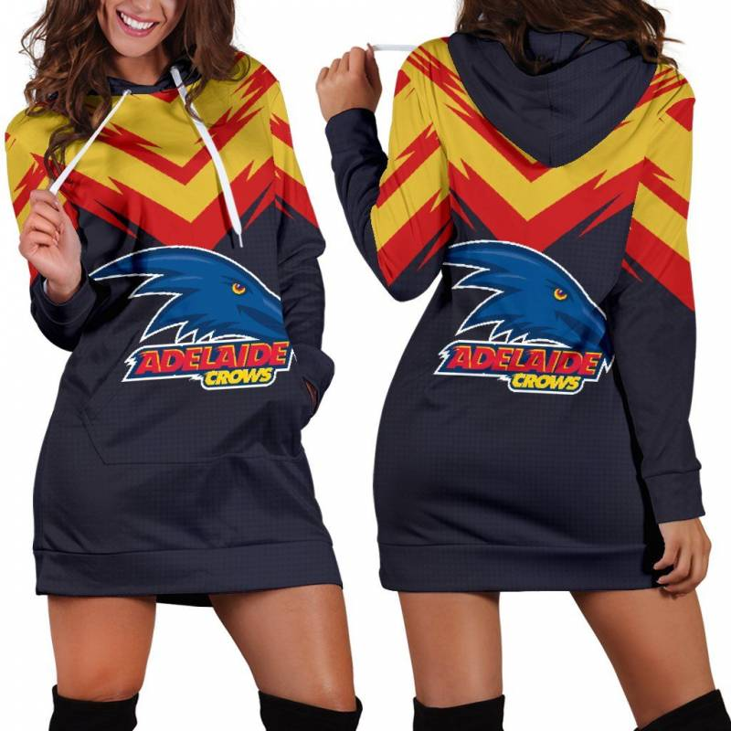 Adelaide Crows Women's Hoodie Dress A25