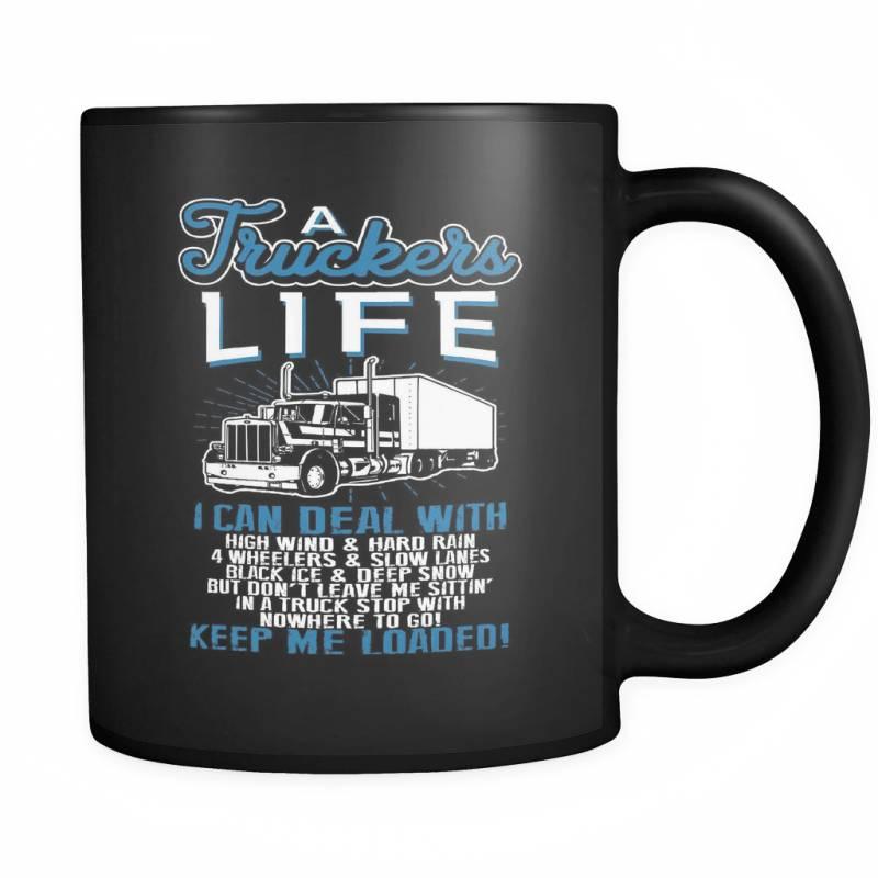 A Trucker's Life - Luxury Mug