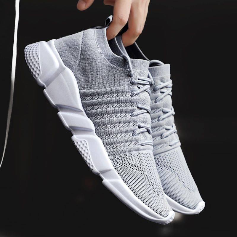 Lightweight Flykint Slip On Walking Men Sneakers & Shoes